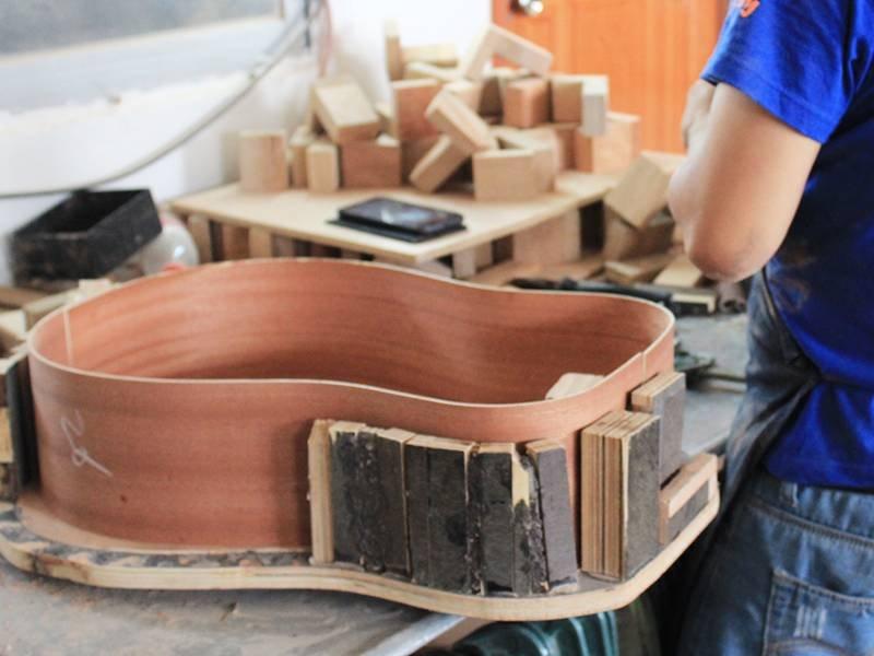 Guitar workshop production line-5