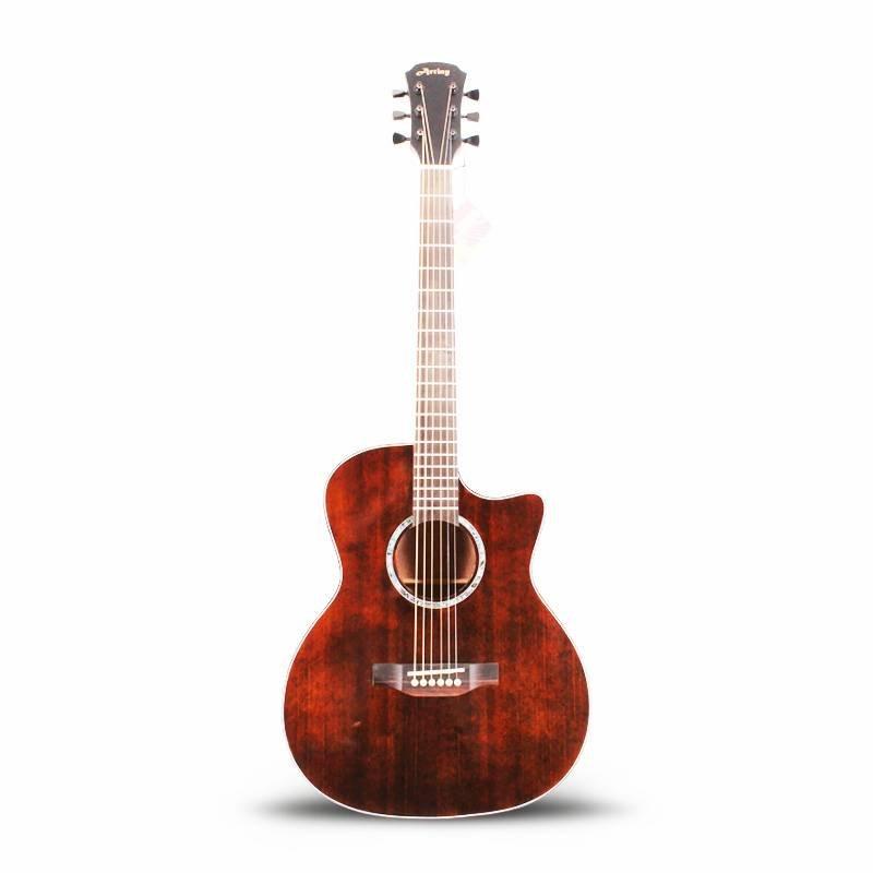 Qteguitar 41 inch acoustic guitar AT-007